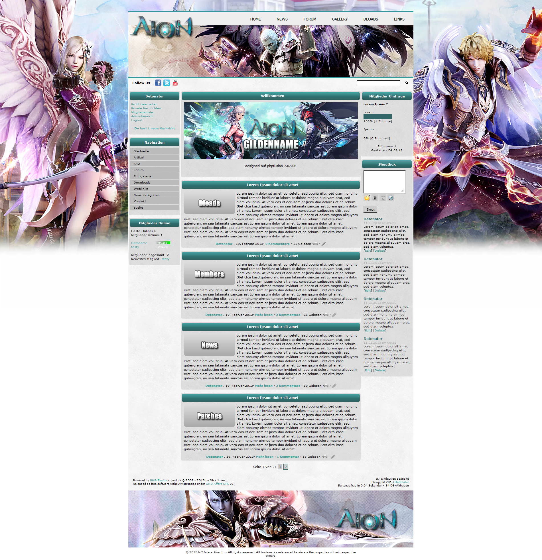 Screenshot Aion #3 Template