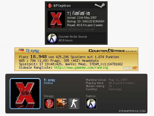 Screenshot SGI Fusion GameME Signatur (v7.01.xx)